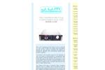 J.U.M. - Model 5-100 - High Temperature Total Hydrocarbon Analyzer - Brochure