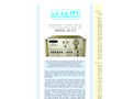 J.U.M. - Model VE572 - Sequencing 2-Channel, Heated Total Hydrocarbon Analyzer - Brochure