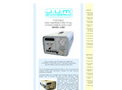 J.U.M. - Model 3-800 - Portable High Temperature Total Hydrocarbon Analyzer - Brochure