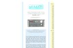 J.U.M. - Model VE7 - High Temperature Total Hydrocarbon Analyzer - Brochure