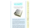 J.U.M. PreFilter - Model VE 112WP - Panel Mount Heated Sample Filter and Interface - Brochure