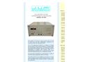 J.U.M. - Model VE 222 - Heated and Low Pressure Drop Sample Interface - Brochure
