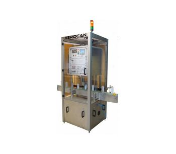 AeroFid - Model 60 - Automatic Micro Leak Detector for Filled Aerosol Cans