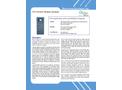 Delta Phase - Model TA-5 - Online Titration Analyzer - Datasheet