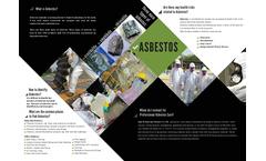 Asbestos Abatement Brochure