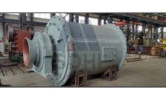 Shunda - Model MQS - Wet Grate Discharge Ball Mill