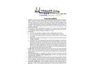 Model GT-3 - Tri Axle Generator Trailer Brochure