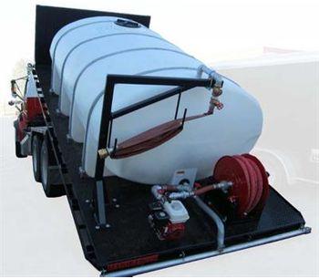 Model WT-FB - Flat Bed-Water Tank Truck