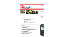 Geotech GEM 5000 Portable Landfill Gas Extraction Monitor - Datasheet