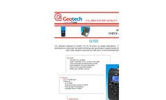 Geotech G 150 Portable CO2 Analyser - Datasheet