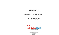 AEMS Data Centre Remote Data Acquisition Software - Operating Manual