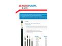 Geotech AP3 Pump Pneumatic Positive Air Displacement Pump - Datasheet