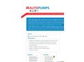 Geotech AP4+ Pneumatic Positive Air Displacement Pump - Datasheet