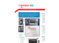 Geotech - Model BIOGAS 300 - Fixed Biogas Analyser - Datasheet