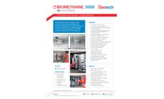 BIOMETHANE 3000  Fixed Gas Analysers - Datasheet