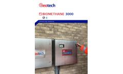 BIOMETHANE 3000  Fixed Gas Analysers - Operating Manual