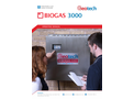 BIOGAS 3000 - Fixed Biogas and Landfill Gas Analyser - Operating Manual