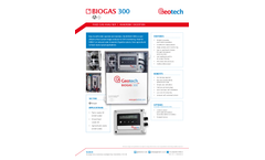 Biogas 300 Fixed Gas Analyser | Anaerobic Digestion – Data Sheet