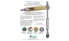 AutoPump AP4 Ultra Remediation Pump - Data Sheet