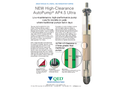 AutoPump AP4.5 Ultra High-Clearance Landfill Liquid Pump - Datasheet