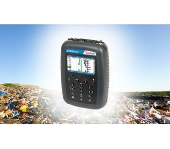 Geotech - Model GEM5000 - Portable Landfill Gas Extraction Monitor