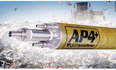 QED - Model AP4 Plus - Pneumatic Positive Air Displacement Pump
