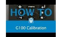 G100 User Calibration - Video