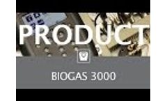 BIOGAS 3000 Fixed Gas Analyser - Video