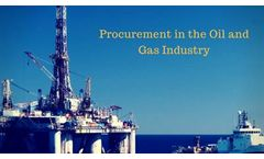 Importance of Procurement in the Oil and Gas Industry