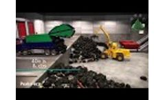 Waste to Energy project MBT plant+AD plant+Incineration (Peaks-eco) Video
