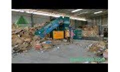 Baler machine export to India energy-saving type Video