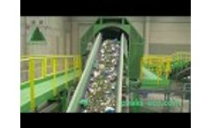Waste sorting plant MBT plant+Composting (Peaks-eco) Video