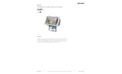 Model FLH - Floodlights for Halogen Aluminium Housing - Datasheet
