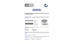 Izofol - Sound-Absorption, Damping, Heat-Insulating and Vibration-Resistant Material Brochure