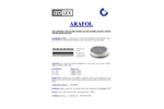 Arafol - Sound-Absorption, Damping, Heat-Insulating and Vibration-Resistant Material Brochure