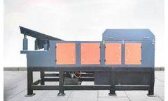 Jiarun - Model ECS800 - City Waste Used Scrap Metal Recycling Equipment