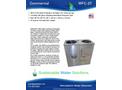 Model WFC-3T - Atmospheric Water Generator Brochure