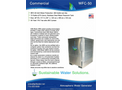 GR8 Water - Model WFC-50 - Atmospheric Water Generator - Datasheet