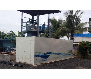 Packaged domestic wastewater treatment plant-1