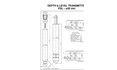 HF Jensen - Model PSL (ø20 mm) - Level Transducers Brochure