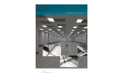 Model MAC-T - Ceiling Grid System for Cleanrooms - Brochure