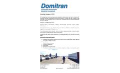 Domitran - Model RTD - Cooling Towers - Brochure