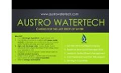 Zero Liquid Discharge (Zld) - Filter Press | Austro Watertech Video