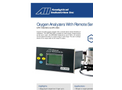AII1 Analytical - Model GPR-1900/MS2 & GPR-2900 - Oxygen Analyzer with Remote Sensor Brochure