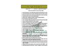 RX60 Preflight Procedures and Checklist Brochure