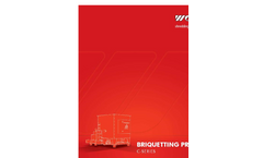 Scheuch - Briquetting Systems Brochure