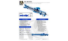 MXQ Bornemann - Model EH - Universal Progressive Cavity Pump - Datasheet