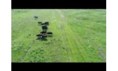 UAV (Drone) Test Collecting Data From HerdDogg Tags from the Air! Video