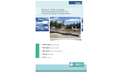 Remtech - Radio Acoustic Sounding System (RASS) for Remote Sensing of Temperature - Datasheet