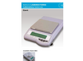 Gibertini - Model CENT-2 10000 HR - Magnetic Compensation Technical Balances Brochure